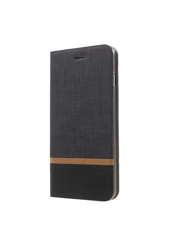 Just in Case Bookcase Striped Black iPhone 7/8 Plus