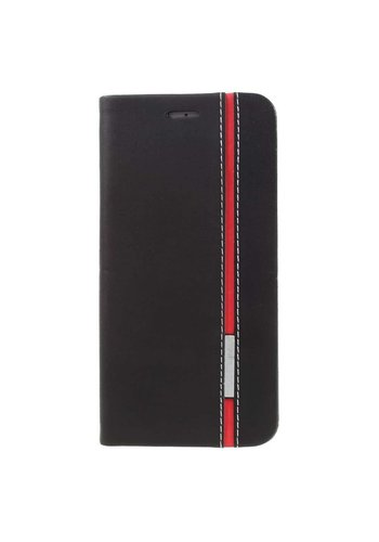 Just in Case Bookcase Red Striping iPhone 7/8 Plus