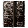 VRS Design Bookcase Krokodillenleer Bruin iPhone 7/8 Plus