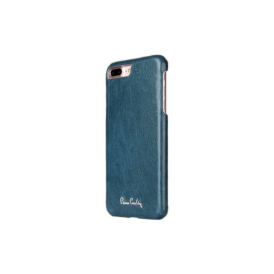 Pierre Cardin Leren Backcase Sapphire Blauw voor iPhone 7/8 Plus