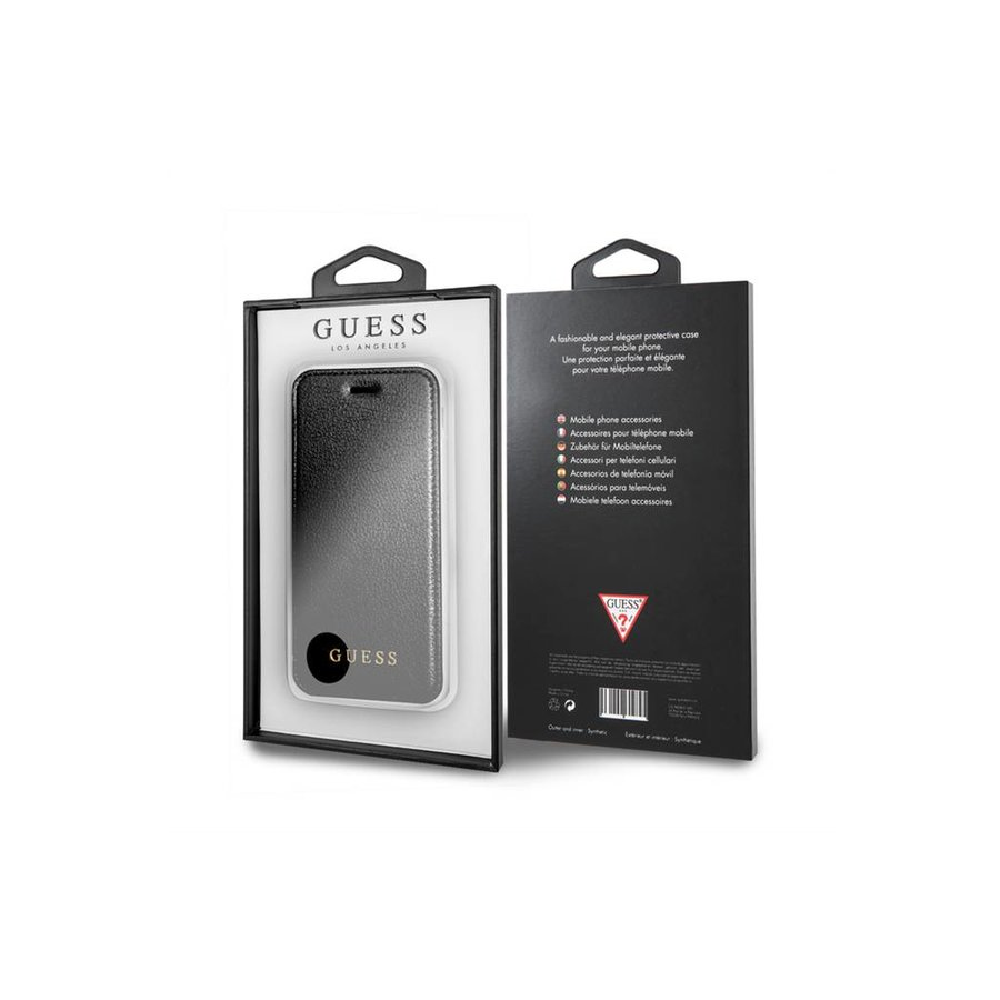 Guess Iridescent Bookcase Zwart voor iPhone 7/8