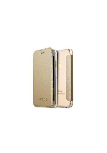 Guess Iridescent Bookcase Goud iPhone 7/8