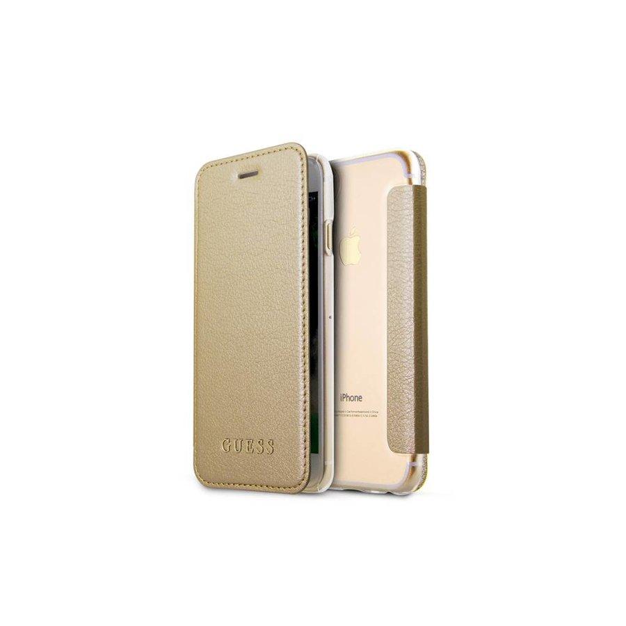 Guess Iridescent Bookcase Goud voor iPhone 7/8