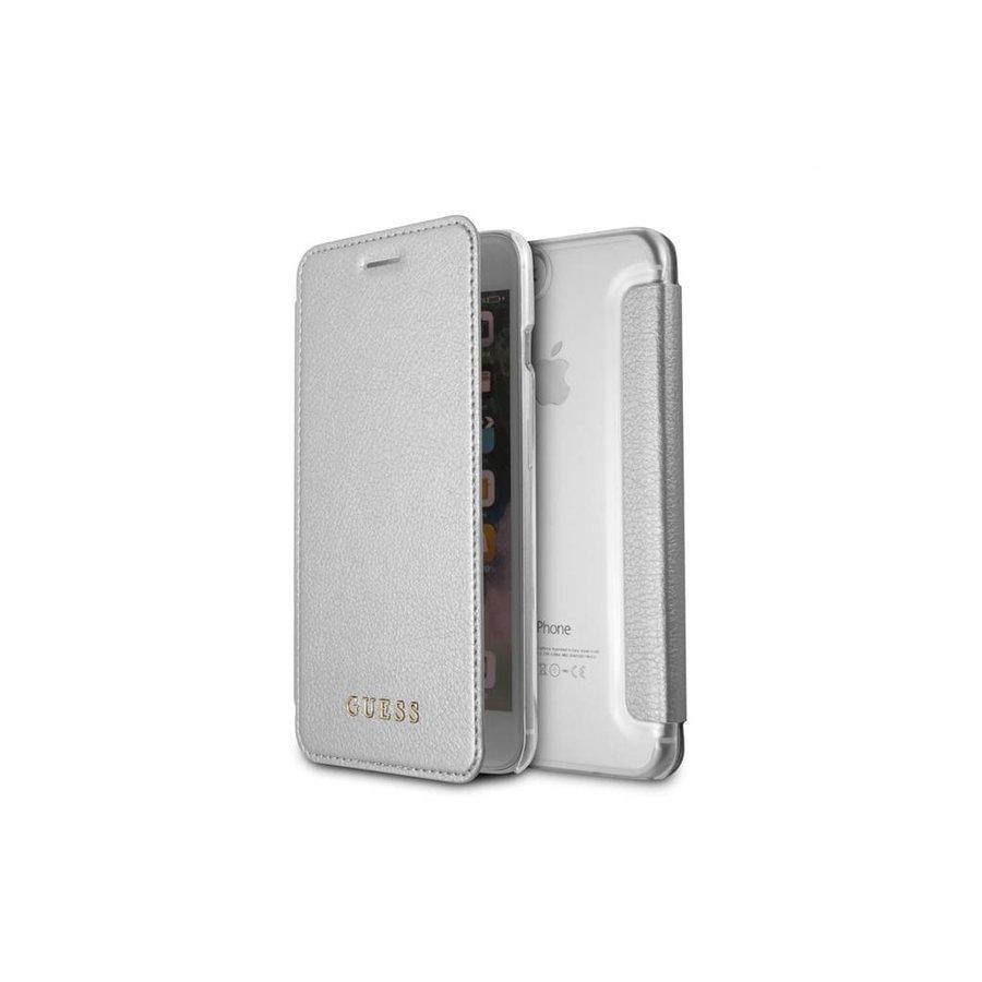 Guess Iridescent Bookcase Zilver voor iPhone 7/8