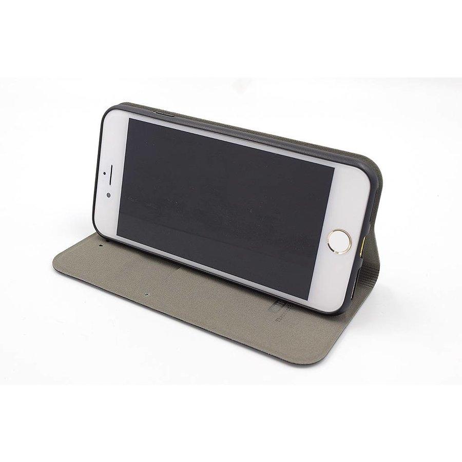 UNIQ Bookcase Zwart voor iPhone 7/8