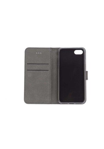 TPU Bookcase Business Zwart iPhone 7/8