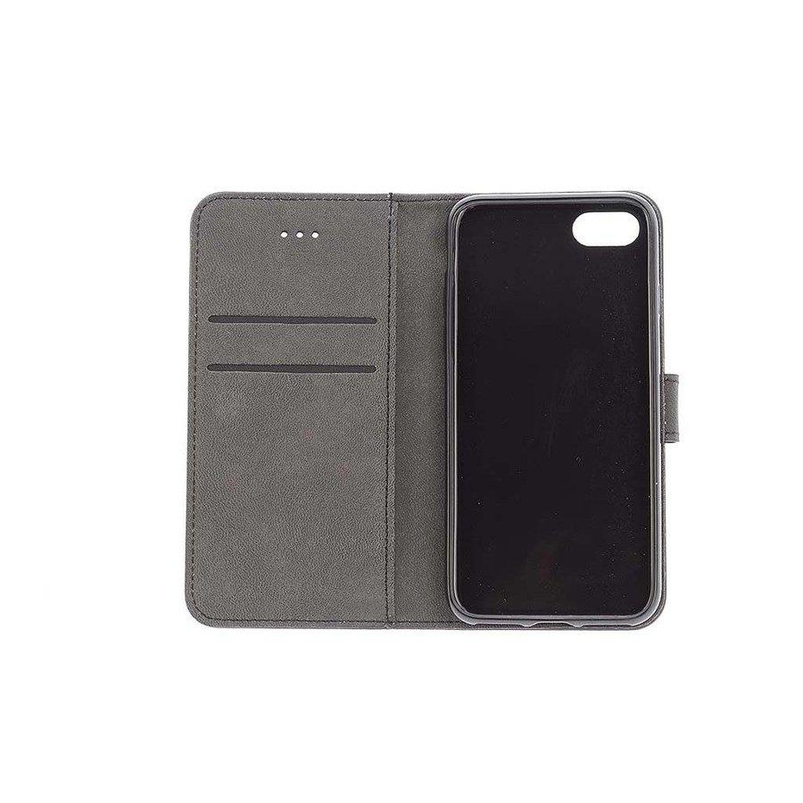 TPU Bookcase Business Zwart voor iPhone 7/8