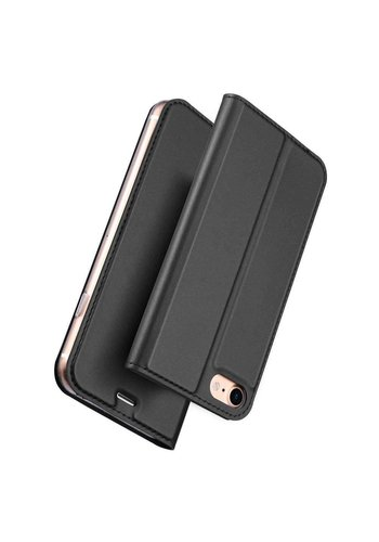 DUX DUCIS  Bookcase Zwart iPhone 7/8