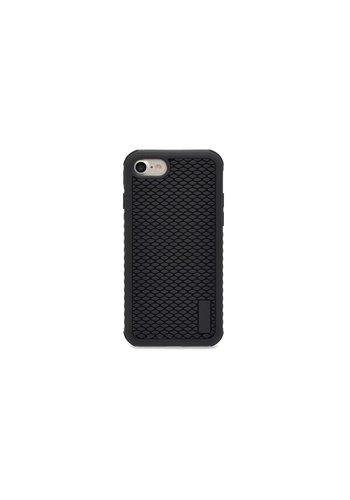 Siliconenhoesje Zwart Patroon iPhone 7/8