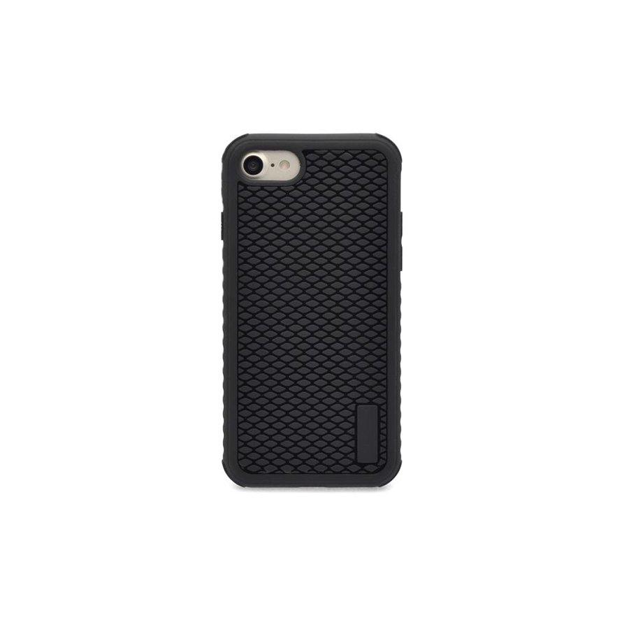 Siliconenhoesje Zwart Patroon voor iPhone 7/8