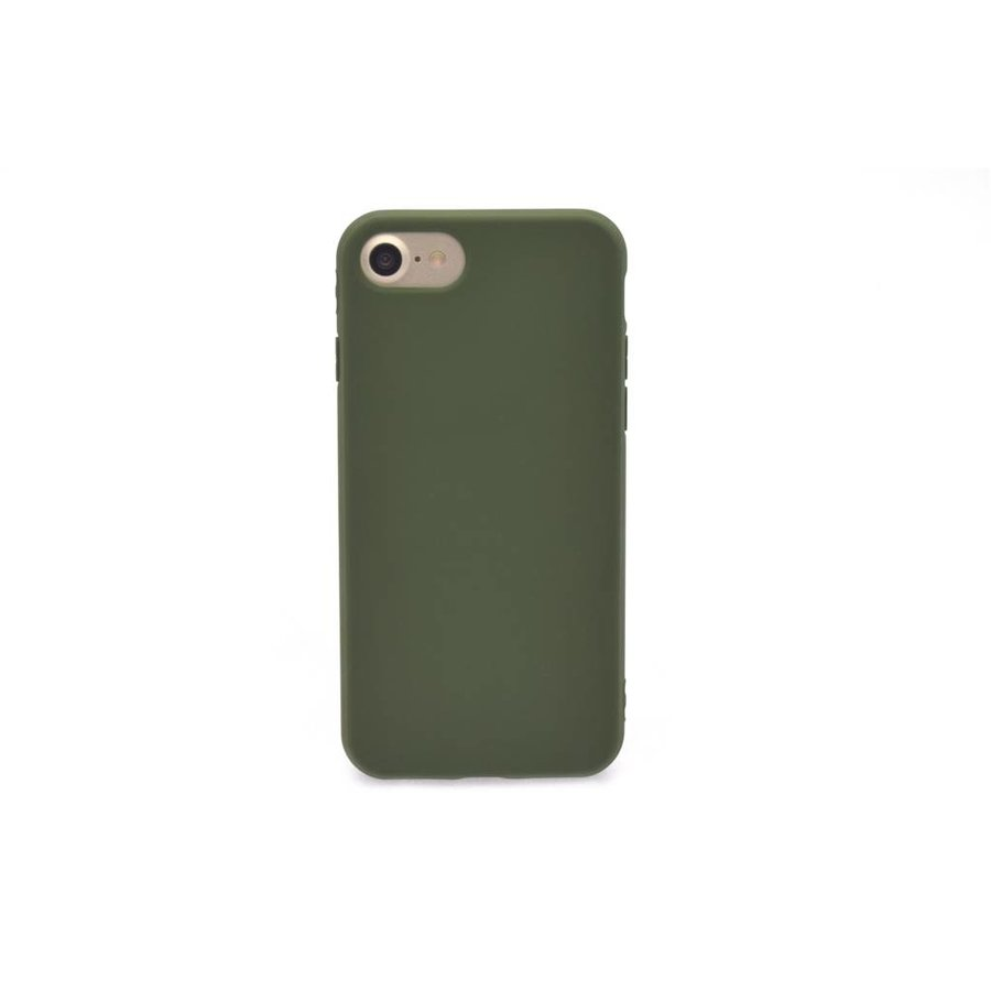 Siliconenhoesje Groen voor iPhone 7/8