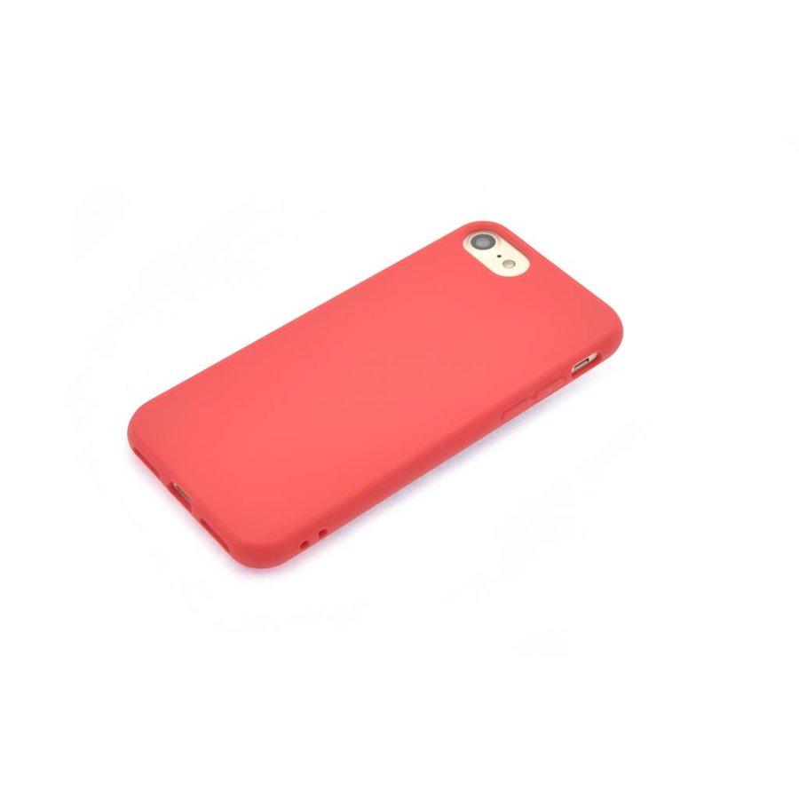 Siliconenhoesje Rood voor iPhone 7/8