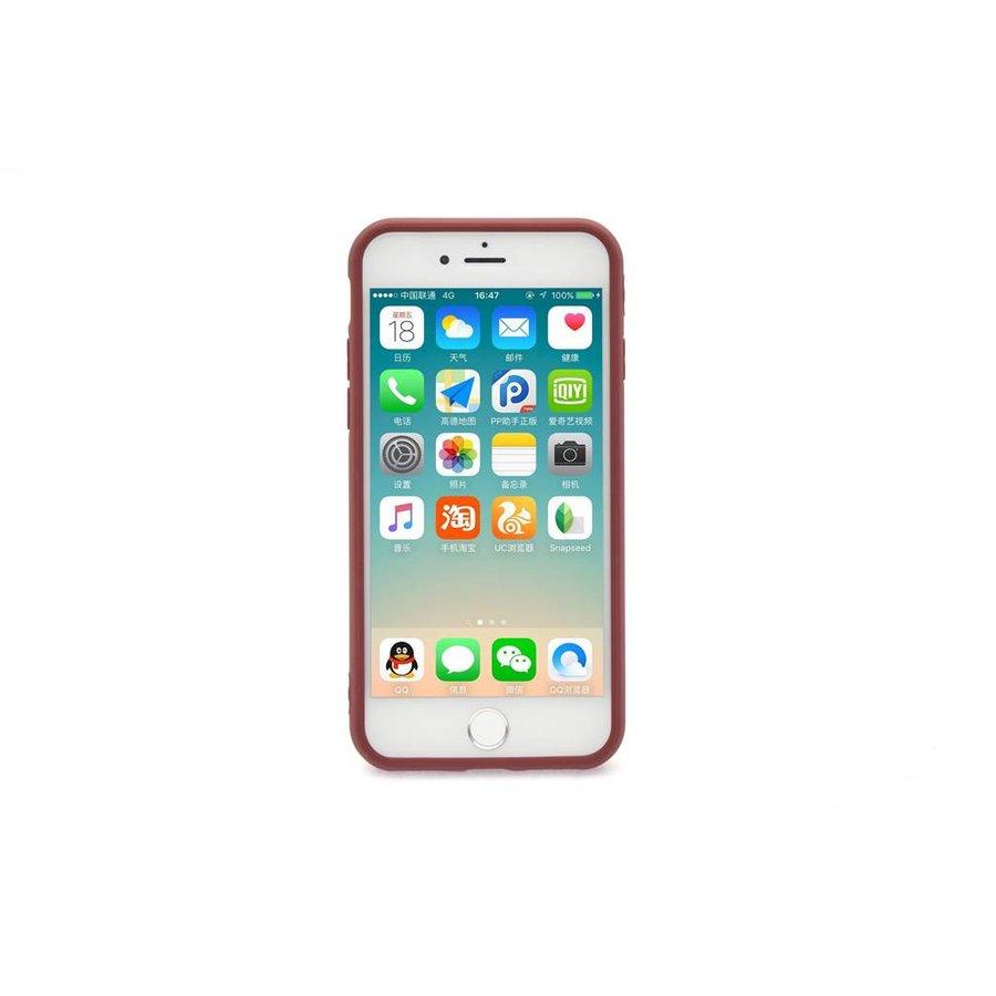 Siliconenhoesje Bruin voor iPhone 7/8