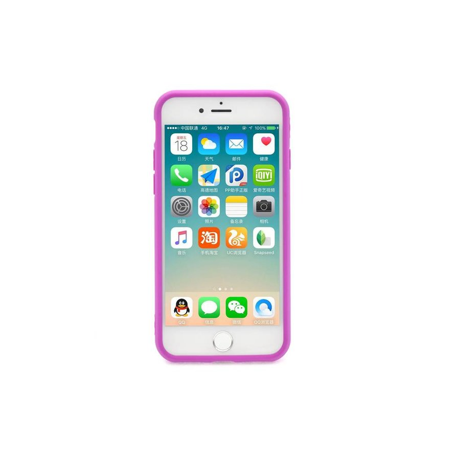 Siliconenhoesje Roze voor iPhone 7/8
