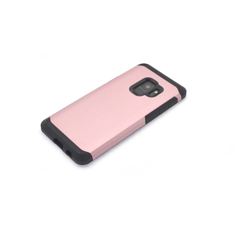 Backcase hoesje voor Samsung Galaxy S9 (Rose Gold)