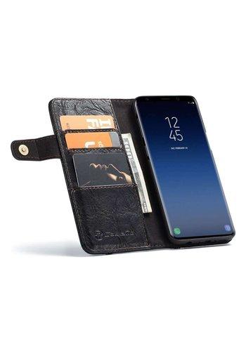 CASEME Bookcase Zwart Samsung Galaxy S9 Plus