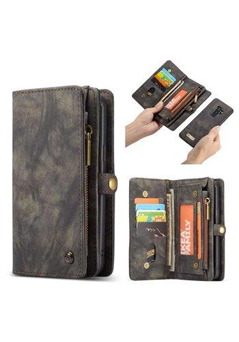 CASEME Bookcase Grijs Samsung Galaxy S9 Plus