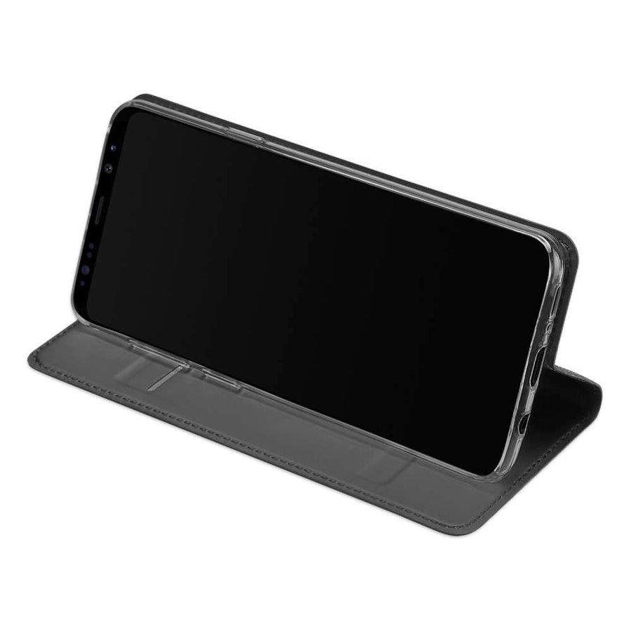 DUX DUCIS Bookcase Grijs voor Samsung Galaxy S9 Plus