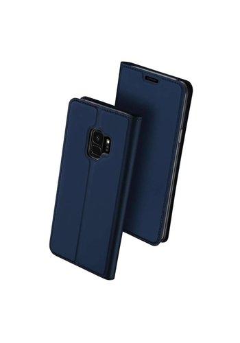 DUX DUCIS Bookcase Blauw Samsung Galaxy S9 Plus