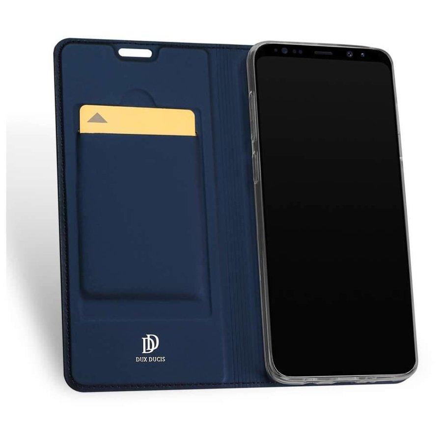 DUX DUCIS Bookcase Blauw voor Samsung Galaxy S9 Plus