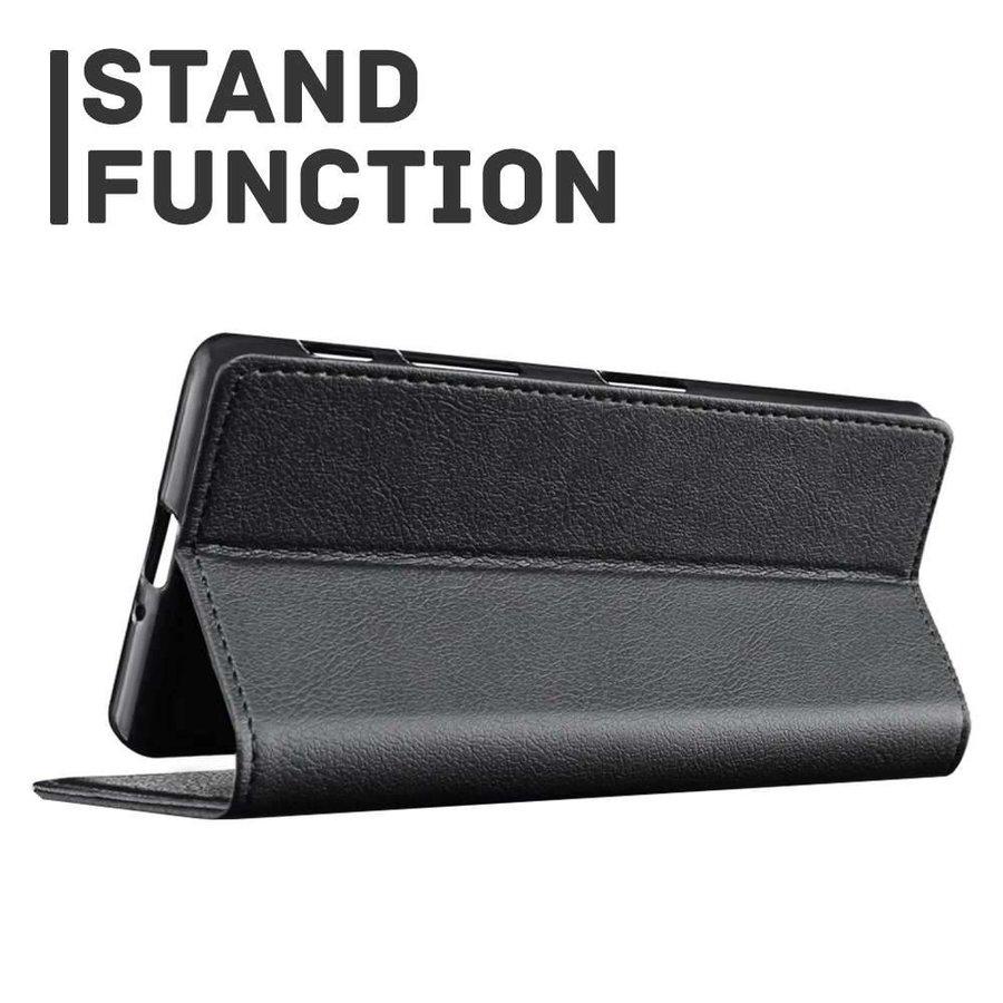 Just in Case Bookcase Zwart voor de iPhone X