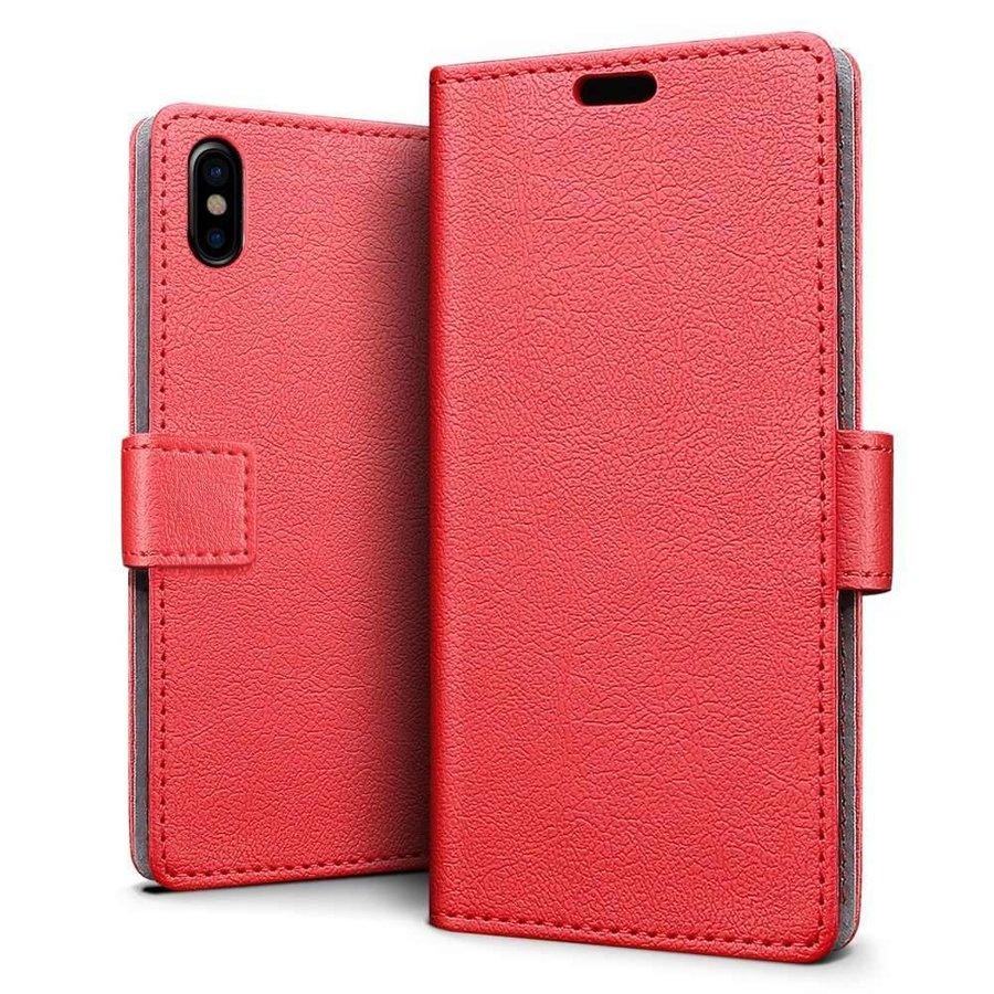 Just in Case Bookcase Rood voor de iPhone X