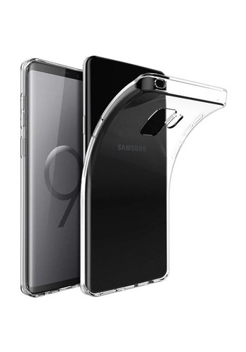 Just in Case Transparant TPU Hoesje Samsung Galaxy S9