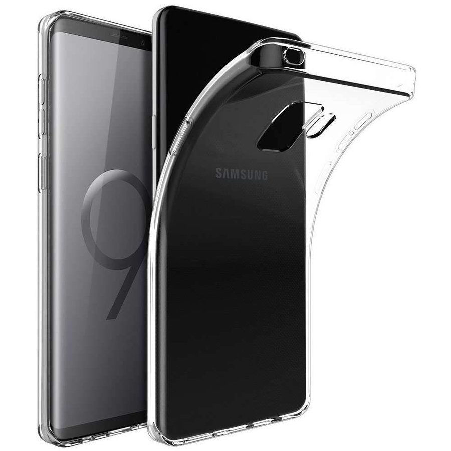 Just in Case Transparant TPU Hoesje voor Samsung Galaxy S9