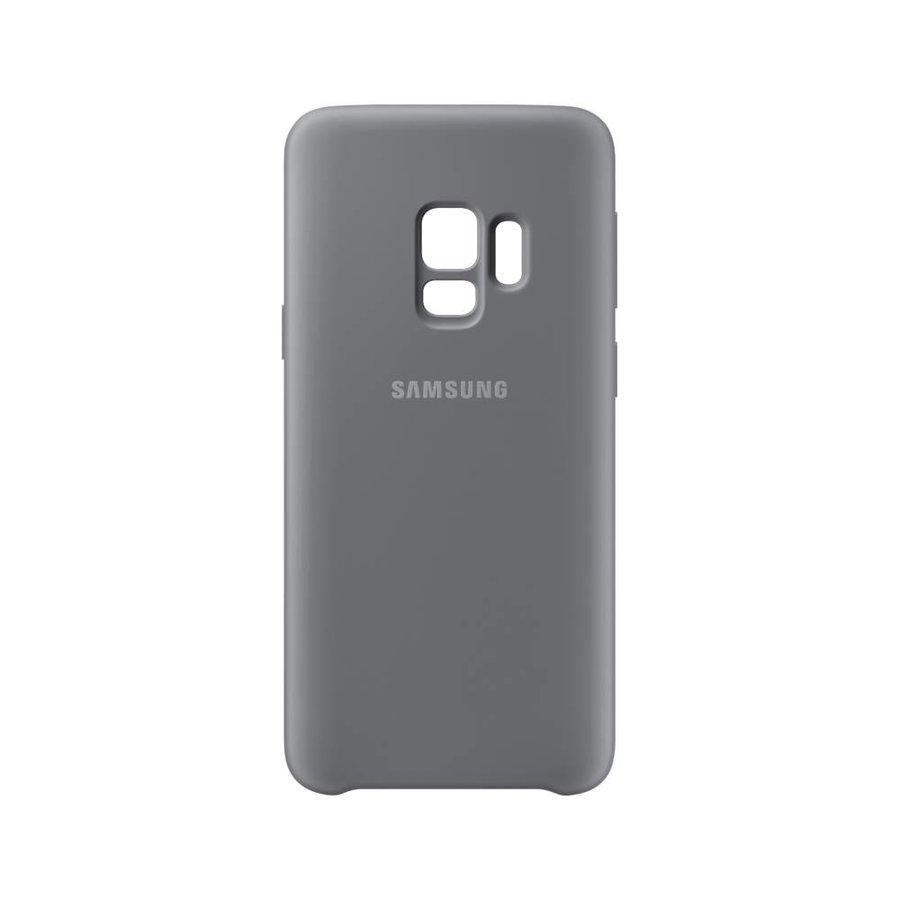 Samsung Siliconen Cover Grijs voor Samsung Galaxy S9