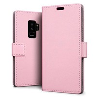 Just in Case Bookcase Roze voor Samsung Galaxy S9