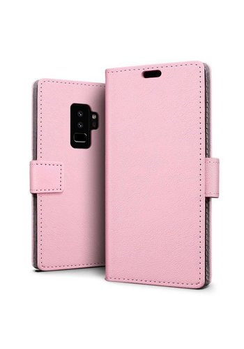 Just in Case Bookcase Roze Samsung Galaxy S9