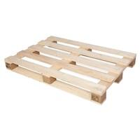 Palette perdue en bois, de dimensions 1200x800x123mm