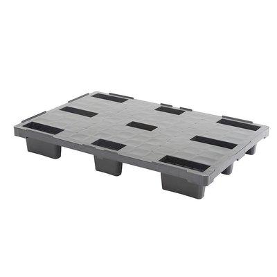 Palette plastique de rétention, dimensions 1140x760- plancher plein