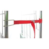 Sangle pour roll conteneur en tissu rouge