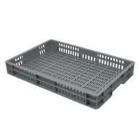 Bac plastique de stockage norme Europe 600x400x80 mm ajouré