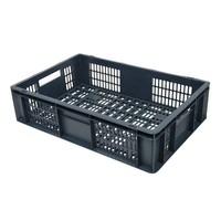Bac plastique norme Europe 600x400x150mm ajouré