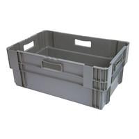 Bac plastique empilable 600x400x245mm - 47 litres