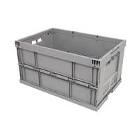 Bac plastique pliable de distribution 600x400x320mm - empilable