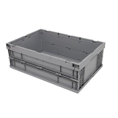 Bac en plastique pliable et empilable 594x396x214 mm