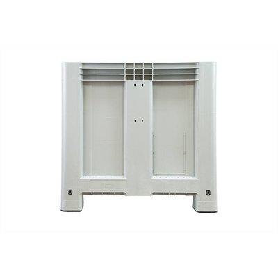 Caisse industrielle empilable 1200x800x800mm - 4 semelles