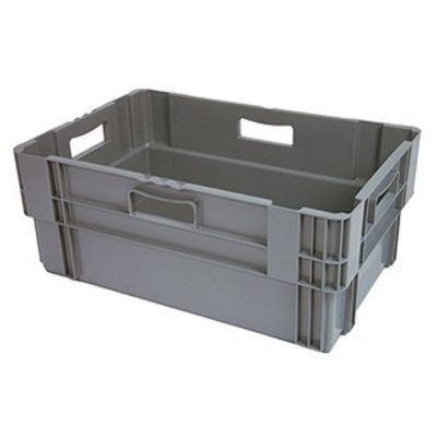 Bac plastique gerbable 600x400x320 mm - empilable