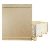 Couvercle bois aggloméré 1200x1000x10mm pour caisse-palette