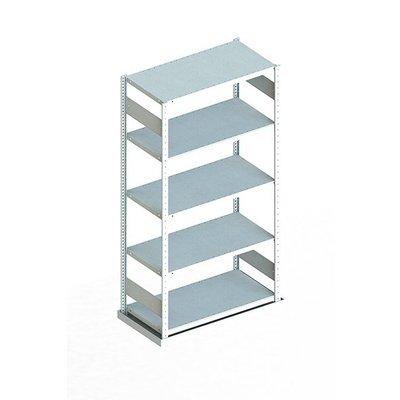Etagère métallique 1000x500x2000mm 4 niveaux