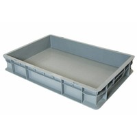 Bac alimentaire norme Europe 600x400x100mm - PP