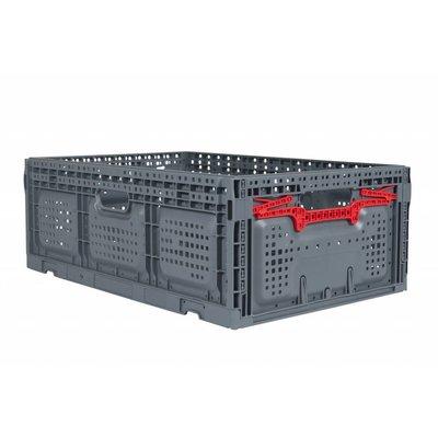 Bac en plastique pliable 600x400x219mm