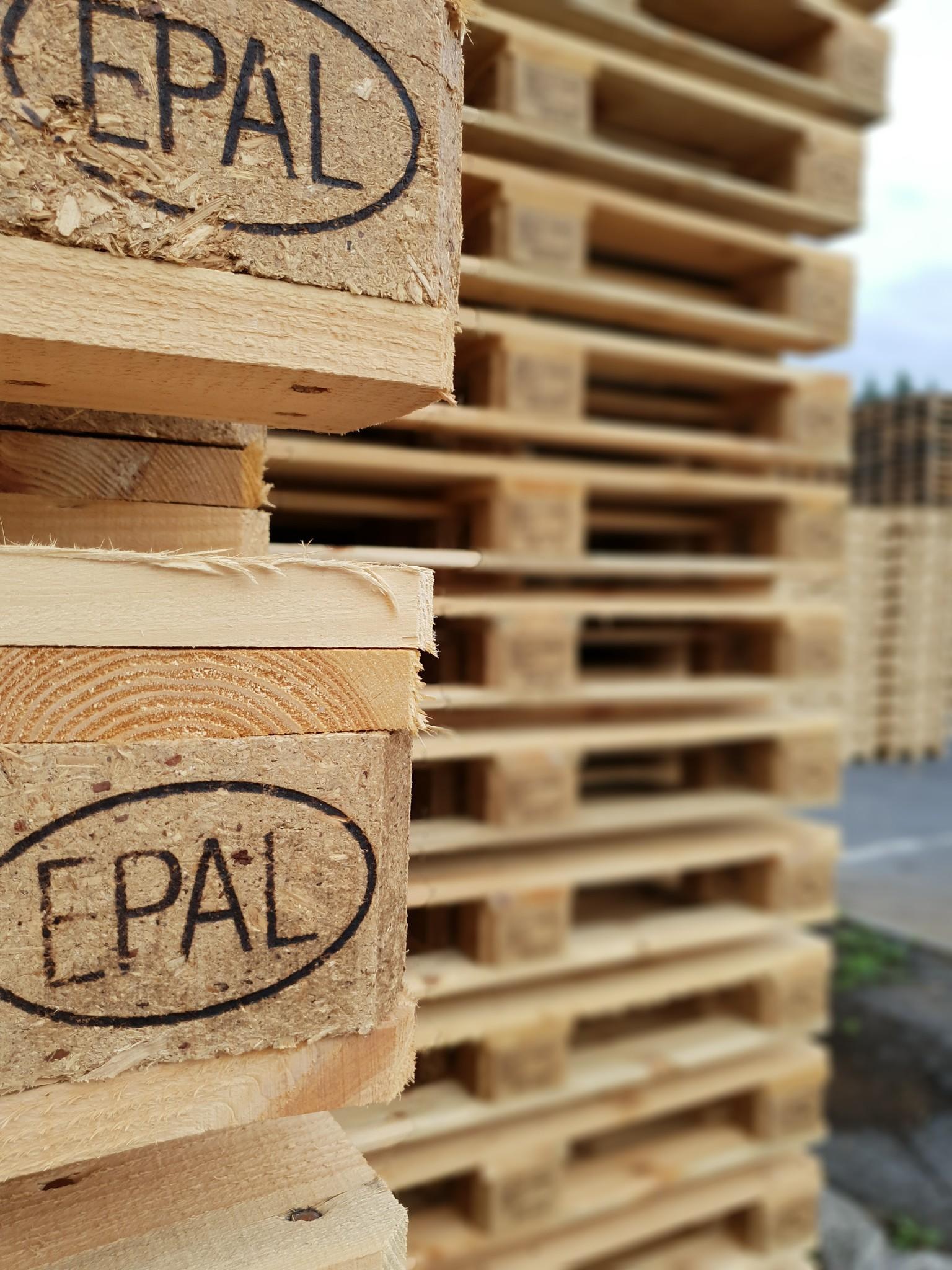 Palettes bois EPAL