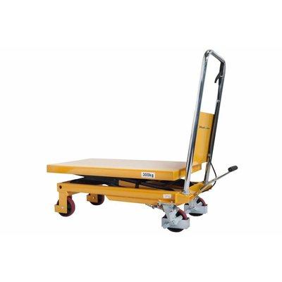 Table élévatrice ciseaux manuelle - 855x500 mm