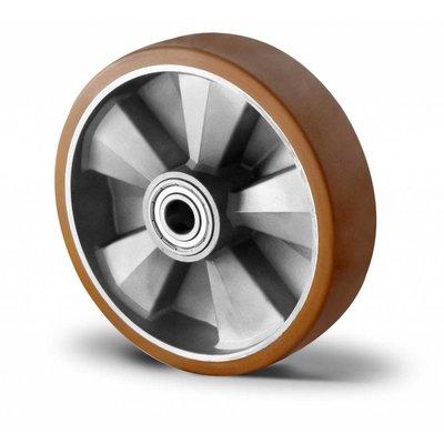 Roue robuste de 125 mm de diamètre pour chariot industriel