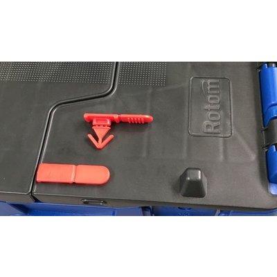 Clip de sécurité pour bac plastique - 1000 pièce par boîte
