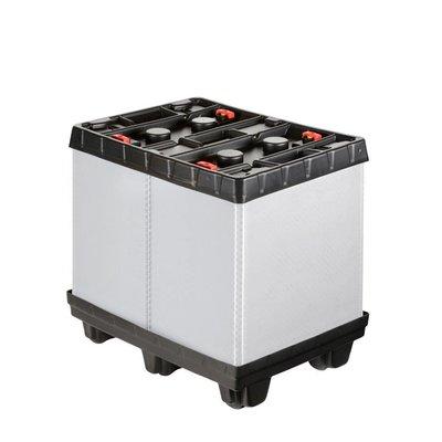 Caisse-palette en plastique pliable 810x612x765mm